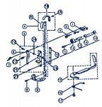 Presser Foot Shoe 68C1-192