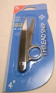 Thread Snips, Stainless Steel, 4