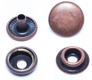 Double Cap Ring Snaps