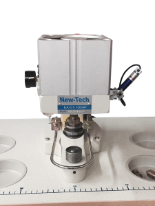 New Tech Pneumatic Press for Grommets, Snaps, Buttons & Rivets w/Laser Pointer (1 die set)