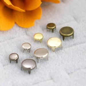 Prong Rivets Flat Round