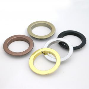 Plastic Faux Metal Drapery Grommet Covers