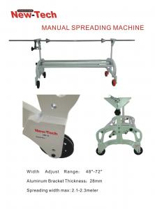 Cloth Spreader Manual Expandable