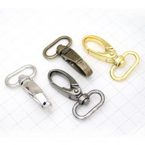 Metal Swivel Snap Hook - Egg Shaped