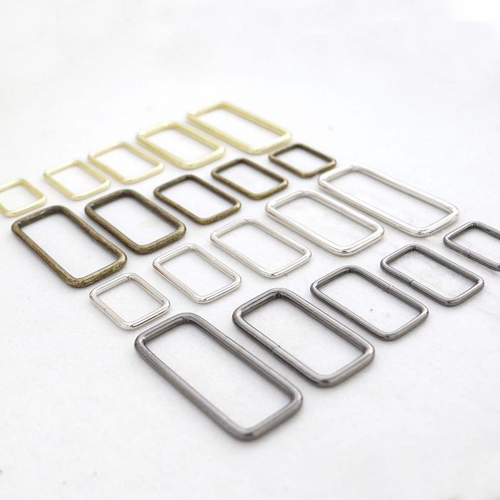 Welded Metal Square Ring